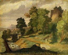 Arnold Böcklin: Landschaft. Vor