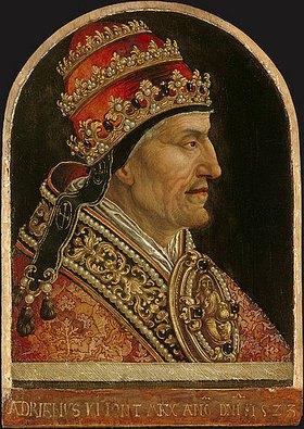 Jörg Breu (Preu) d.Ä.: Papst Hadrian VI