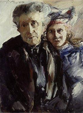 Lovis Corinth: Großmutter und Enkelin