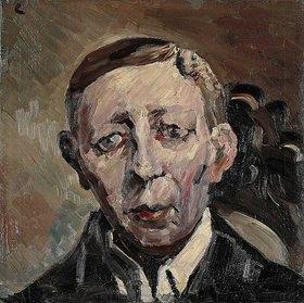 Lovis Corinth: Bildnis Fritz Thieme, Kopf en face