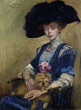 Lovis Corinth: Bildnis Frau Luther