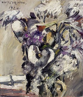 Lovis Corinth: Chrysanthemen und Kalla