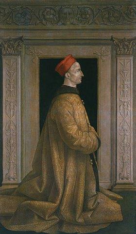 Baldassare Estense: Bildnis des Ercole I. d'Este, Herzog von Ferrara (1431-1505). (siehe auch Bildnummer 35224)