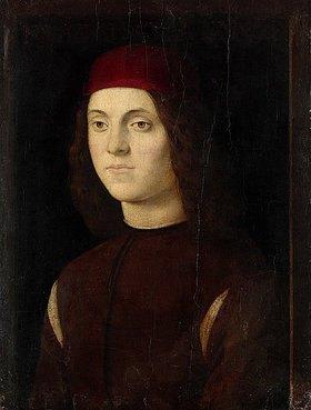 Lorenzo di Credi: Bildnis des Francesco Alunno