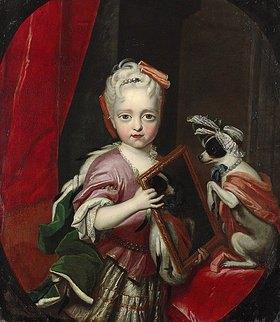 Unbekannter Künstler: Prinzessin Maria Josepha als Kind