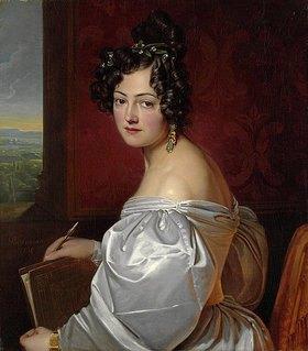 Georg Friedrich Reichmann: Bildnis Auguste von Schulte