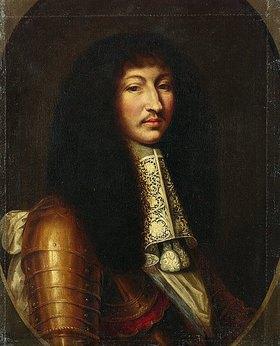 Unbekannter Künstler: Ludwig XIV. von Frankreich. Nach