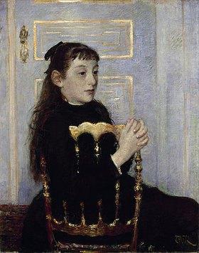 Theo van Rysselberghe: Portrait der Camille van Mons