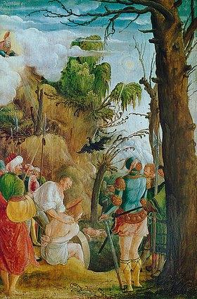 Albrecht Altdorfer: Die Marter des hl. Florian