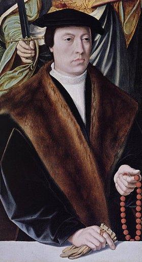 Bartholomäus Bruyn d.Ä.: Bildnis eines Stifters. Um 1540 (siehe auch Bildnummer 35265)