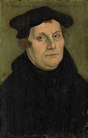 Deutsch: Martin Luther. (siehe auch Bildnummer 35270)