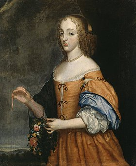 Louise Hollandine: Ricorda Comtesse de Caraffa. Um 1680?