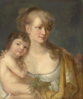 Angelika Kauffmann: Juliane von Krüdener mit ihrem Sohn Paul