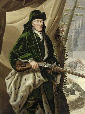 Christoph Bernhard Francke: Herzog Rudolf August von Braunschweig-Wolfenbüttel