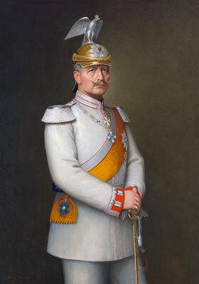 Adolf Emil Hering: Bildnis Kaiser Wilhelm II. (siehe auch Bildnummer 35280)