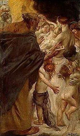 Johann Caspar Herterich: Himmlisches Wiedersehen