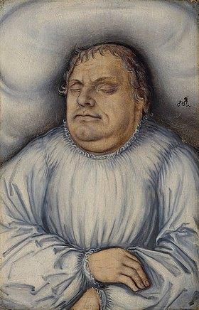 Lucas Cranach d.Ä.: Martin Luther auf dem Totenbett