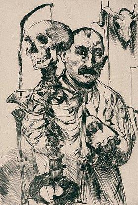 Lovis Corinth: Der Künstler und der Tod II