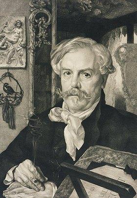 Auguste-Joseph gen. Félix Braquemond: Edmont de Goncourt
