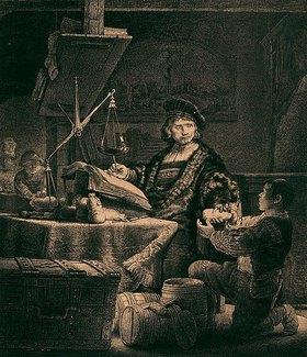 Rembrandt van Rijn: Jan Uytenbogaert, genannt der Goldwäger