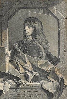 Laurent Cars: Sébastian Bourdon. 1733 (siehe auch Bildnummer 28565)