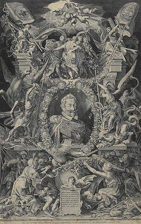 Egidius Sadeler d.J.: Kaiser Matthias