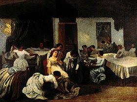 Gustave Courbet: Die Toilette der Toten