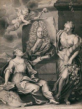 Martin Bernigeroth: Johann George Richter. Nach