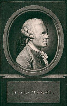 Johann Elias Haid: Jean le Rond d'Alembert