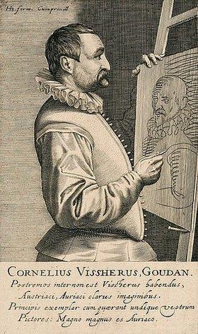 Robert Willemsz. de Baudos: Cornelis Visscher