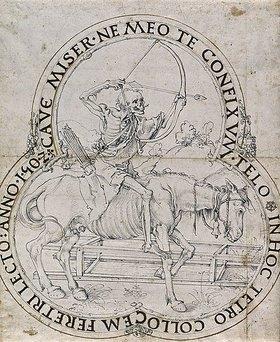 Albrecht Dürer: Der reitende Tod