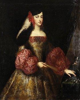 Juan Bautista Martinez del Mazo: Die Herzogin von Montalto
