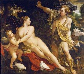 Annibale Carracci: Adonis findet Venus