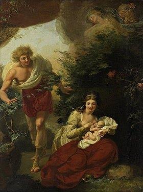 Johann Heinrich Ramberg: Szene aus Wielands 'Oberon'