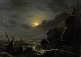 Johann Heinrich Ramberg: Sturm auf dem Meere