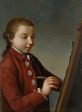 Johann Heinrich Ramberg: Selbstbildnis