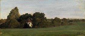 Franz von Lenbach: Landschaft mit Kapelle