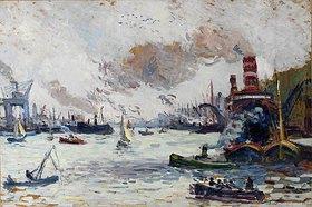 Maximilien Luce: Der Hafen von Rotterdam