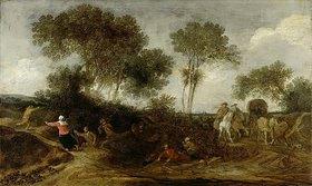 Pieter de Molyn: Der Raubüberfall