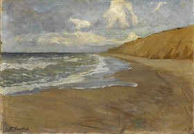Fritz Overbeck: Strand auf Sylt