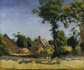 Camille Pissarro: Landschaft (Dorf Melleraye, Dep. Mayenne)