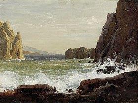 Wilhelm Ferd.August Schirmer: Küste von Capri