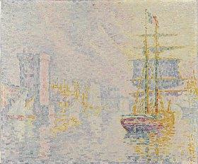 Paul Signac: Marseille. La Brume jaune