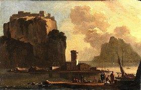Thomas Wyck: Südlicher Hafen. Mitte 17. Jahrhundert