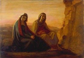 Philipp Veit: Die beiden Marien am Grab Christi. 1858 (?)