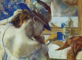 Edgar Degas: Vor dem Spiegel