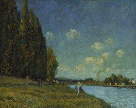 Alfred Sisley: Landschaft an der Seine