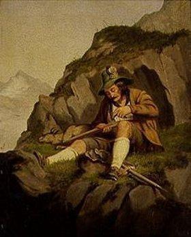 Hans Kransberger: Jäger im Gebirge