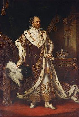 Joseph Karl Stieler: König Maximilian I. von Bayern im Krönungsornat