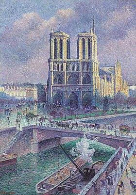 Maximilien Luce: Notre Dame, Paris